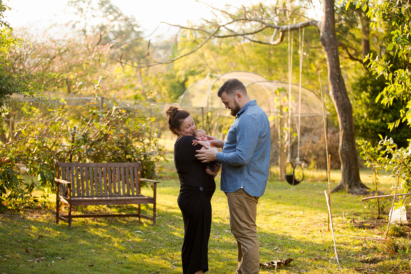 Newborn, parents, family, afternoon light, home, Alice payne photography